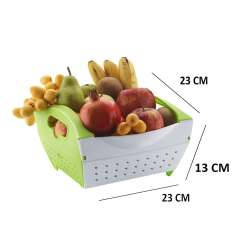 Kitchen Fruit Basket Stand Alone Cabinet Buy By Axtry Online Shopping For Table Baskets In India 14904871