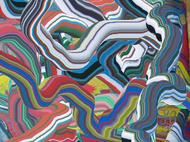 Цвета психоделического искусства Леви Бори (20 фото)