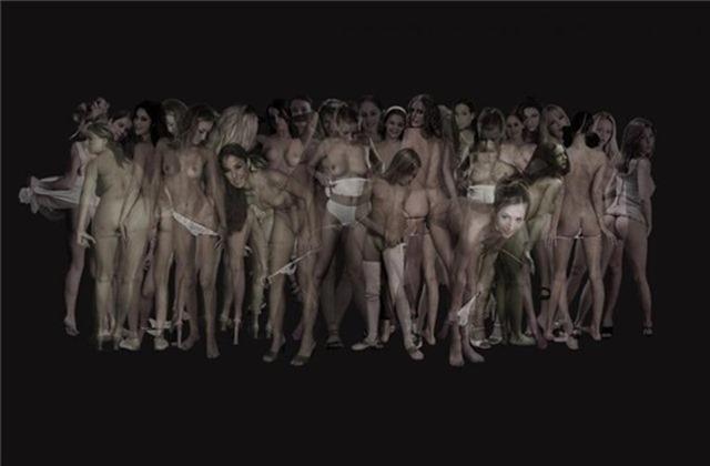 Фотоистории Саши Грити. Танцующие перед темным стеклом