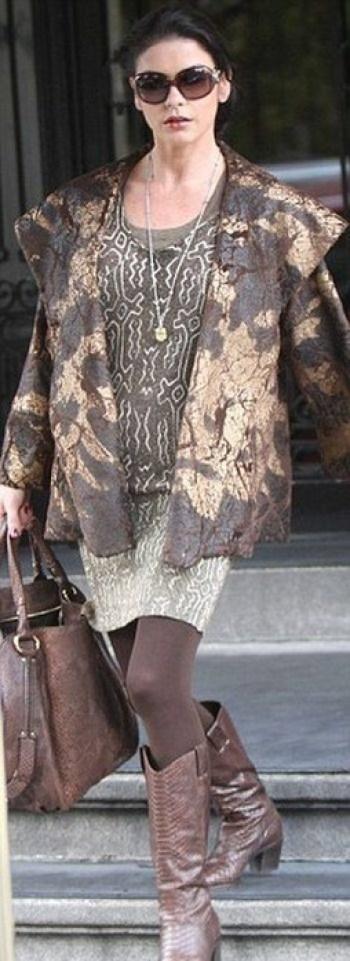 Деревенская модница в Нью Йорке