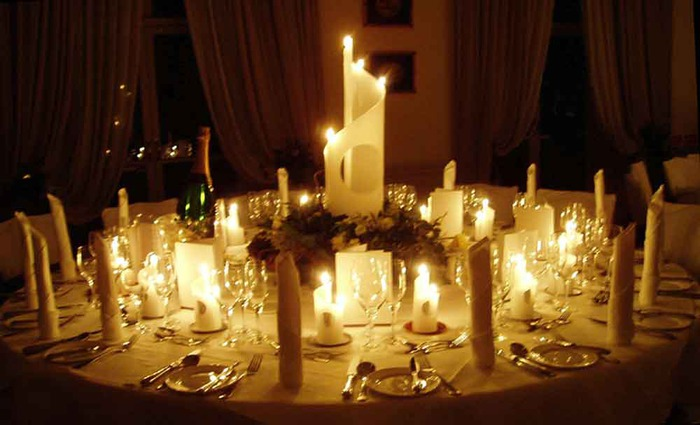 Candle Decoration Inspirations For Wedding