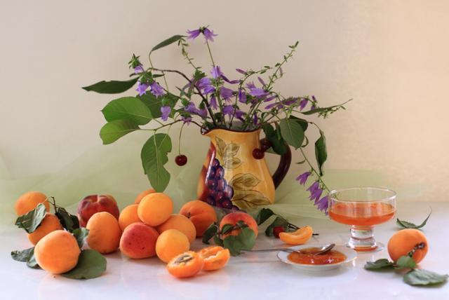 цветы и фрукты 6 (700x469, 437Kb)