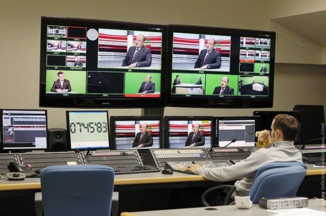 Как делают телепрограммы (фоторепортаж)