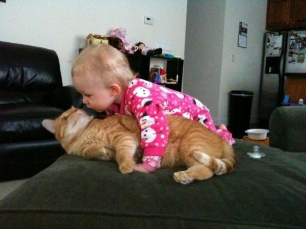 А вы целуете детей перед сном?
