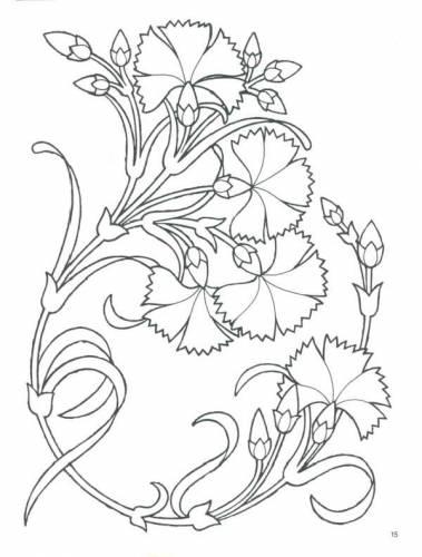 Узоры схемы для витражной росписи