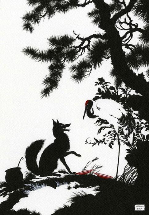 Иллюстрации тайского художника к русским сказкам