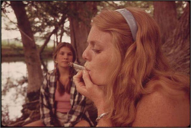 Америка 70 х. Коллекция фотографий