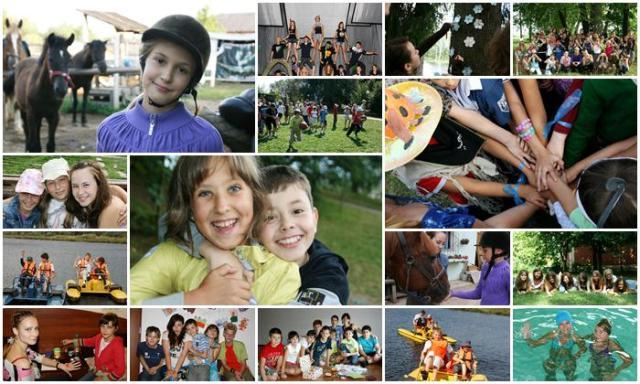 Летние каникулы в детском лагере Страна Оз. Видео