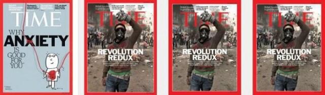 Обложки журнала Time для разных стран
