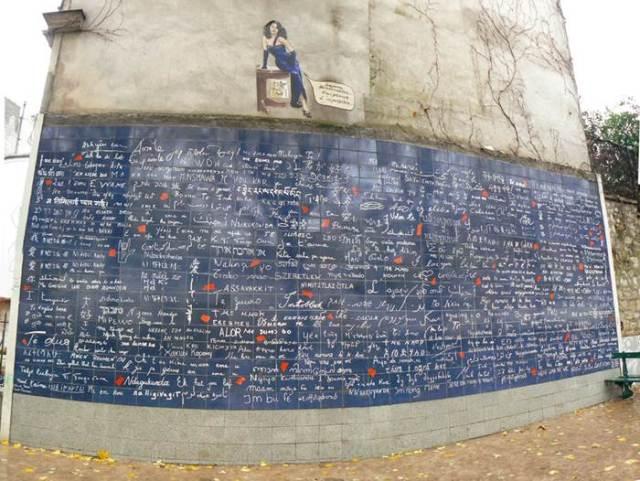 Фото дня: Стена любви