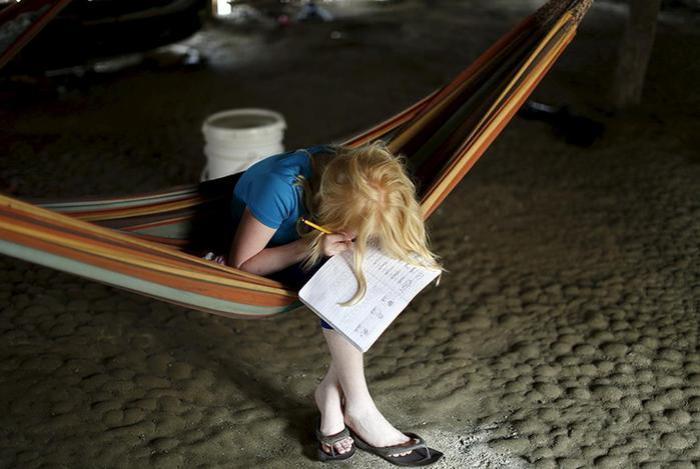 «Дети Луны»: фотографии альбиносов Панамы, Карибское море