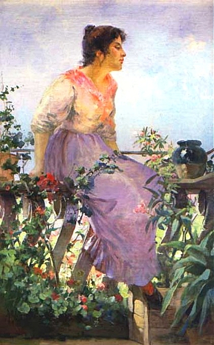 Arter, Charles_SUNSHINE_AND_FLOWERS (435x700, 251Kb)