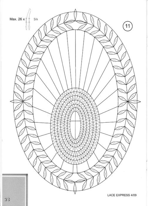 lace express 4 2009 (плетение на коклюшках). Обсуждение на
