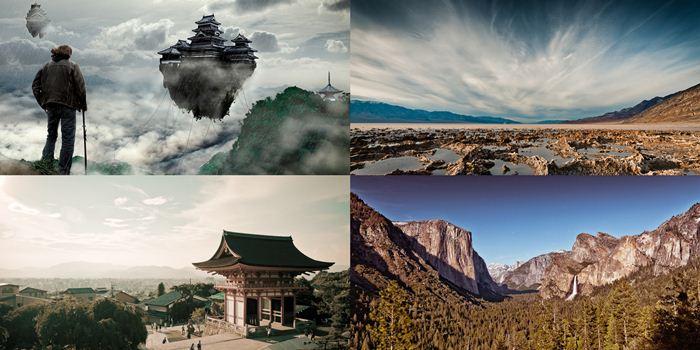 Фантастические пейзажи Натана Споттса