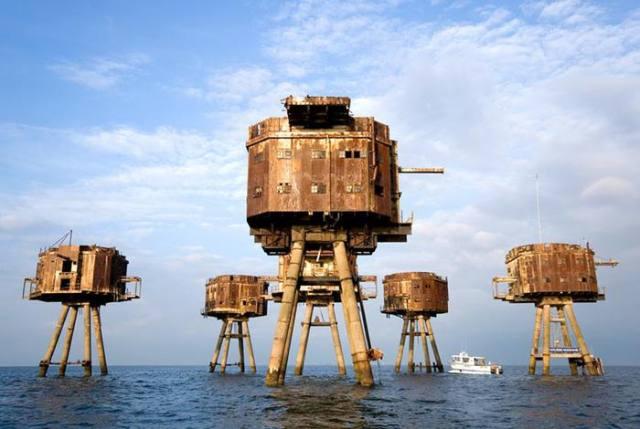 Морские укрепления Второй мировой
