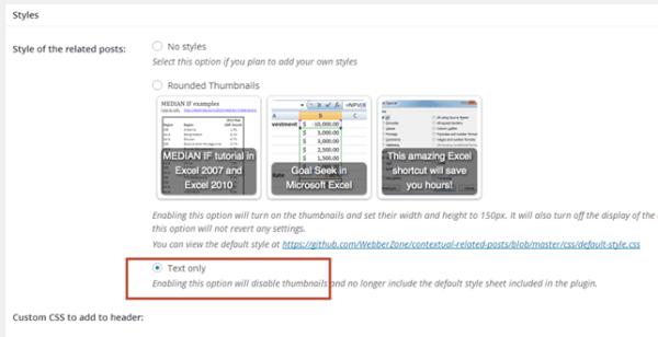 Неправильно работает плагин «Контекстные похожие посты» WordPress