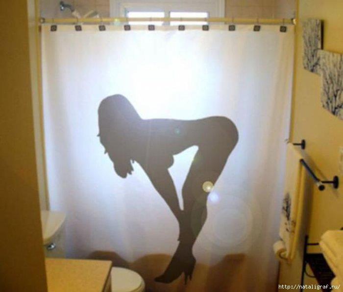Забавни завеси за баня
