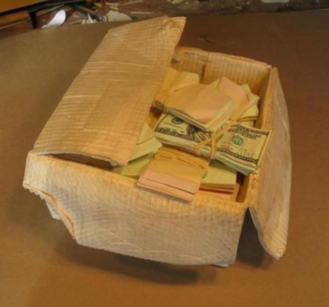 Как превратить деревянный брусок в коробку денег
