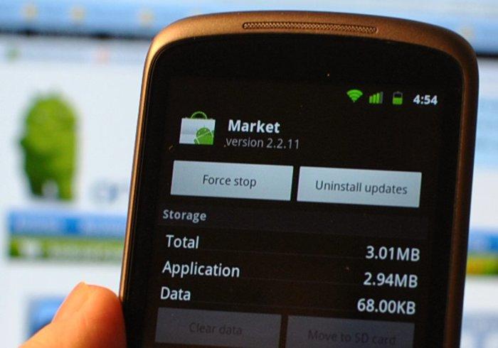 Google решил отключить магазин с приложениями Android