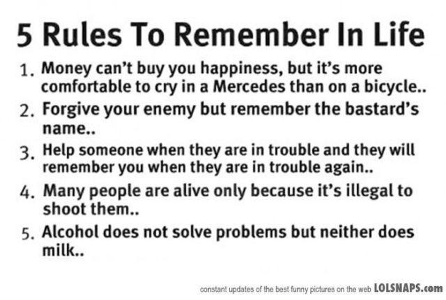 15 правил, які значно спростять вам життя