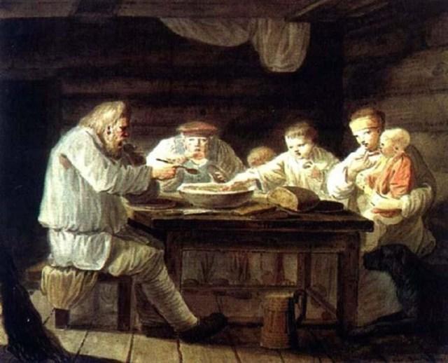 Что ели российские крестьяне в 19 веке от Рождества Христова?