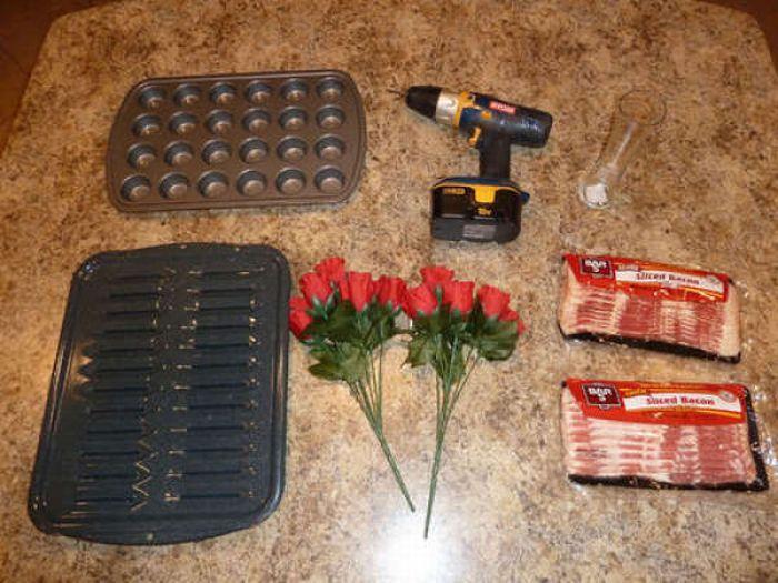 Как сделать розы из бекона (подробная инструкция)
