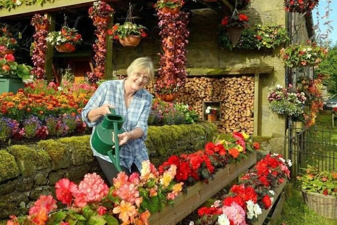 Цветочный дом в Англии устроили странные супруги