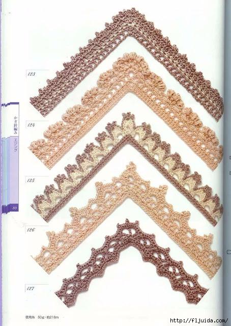 вязание ажурного кружева