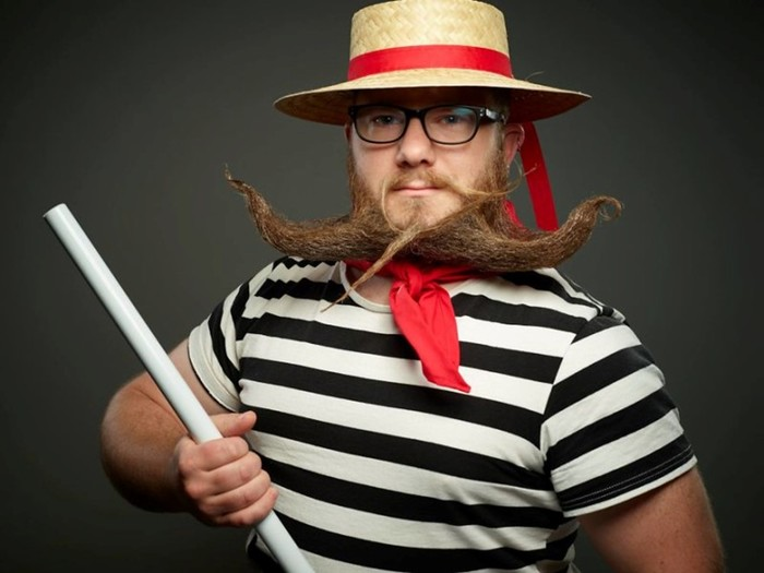 Международный чемпионат усов и бород 2017