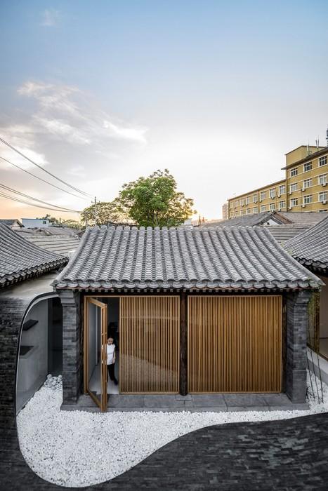 Дизайн многофункционального дома в Пекине