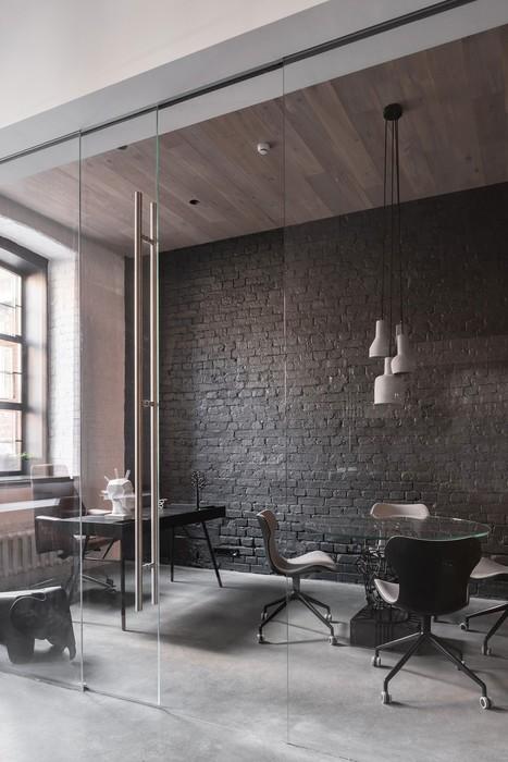 Кадры интерьера нового офиса архитектурного бюро Александры Федоровой