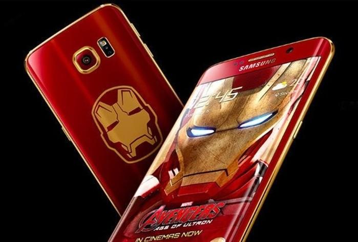 Смартфон Samsung Galaxy S6 Edge Iron Man за 91 тысячу долларов