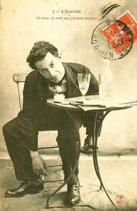 Абсент – профессиональный напиток интеллектуалов, художников и поэтов