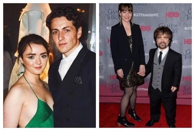 С кем встречаются в реальной жизни актеры Игры престолов?