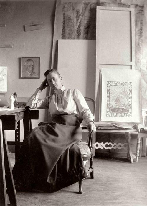 Шведская художница, писавшая картины под диктовку духов
