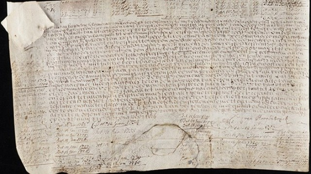 Йельский университет приобрел старинную облигацию из козьей кожи и теперь получает по ней проценты