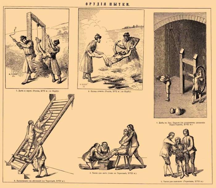 Боль и страх: 10 главных телесных наказаний на Руси