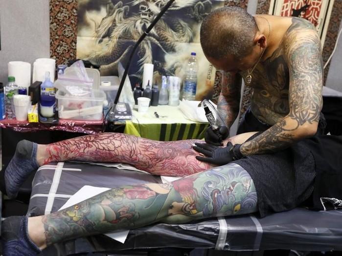 Фестиваль татуировок в Лондоне 2017