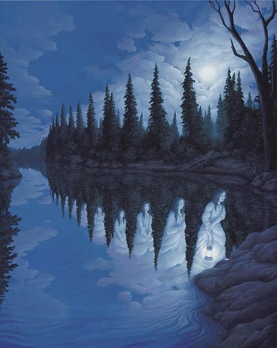 Роб Гонсалвес: 30 художественных иллюзий, которые перевернут твое сознание
