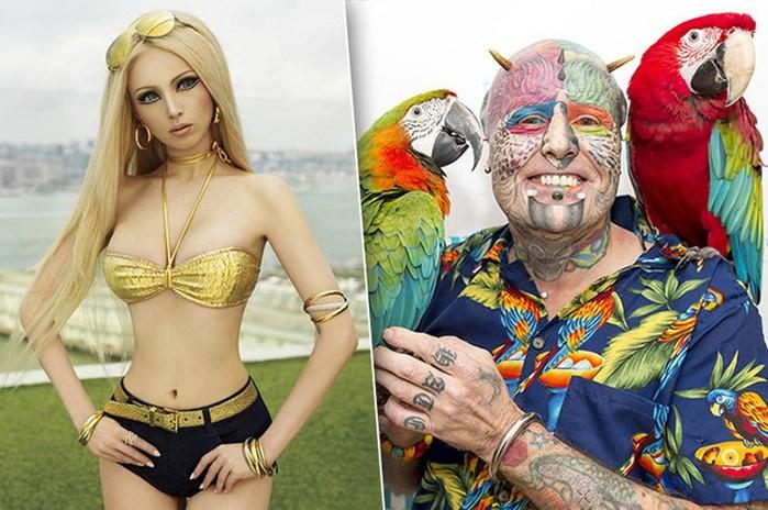 Люди, изменившие свою внешность самым невероятным образом