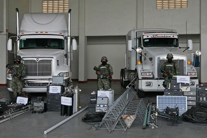 Тайное оружие наркобаронов. У них есть танки, суперкомпьютеры и беспилотники