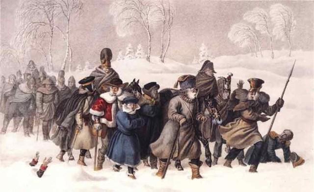 Как французские солдаты стали казаками