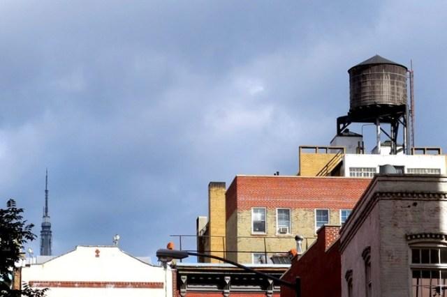 Любопытное про водонапорные башни Нью Йорка