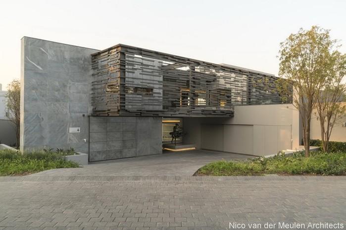 Дом из экологичных материалов в ЮАР