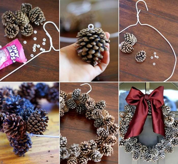 Новогодние поделки из разных материалов