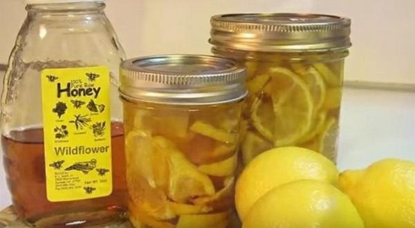 Лимонно медовая смесь для очищения сосудов