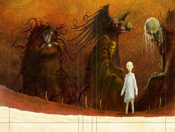 100 самых страшных сказок для взрослых