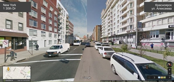 Улицы Красноярска и Нью Йорка соединили в одном кадре! Смотрите, что из этого получилось!