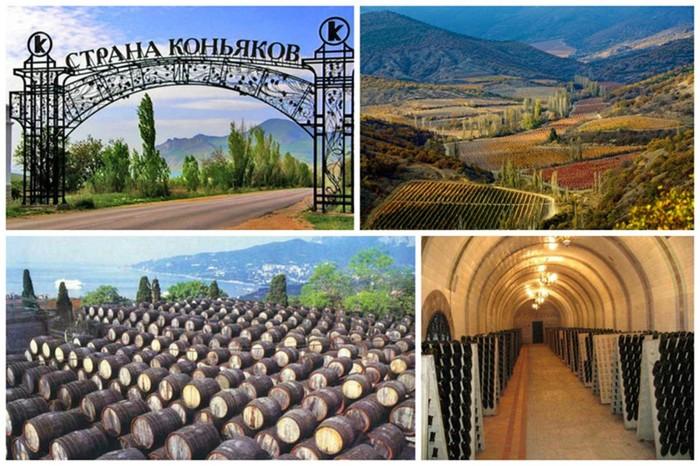 Любопытно о популярных винно коньячный заводах Крыма