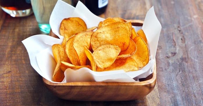 Домашние картофельные чипсы из микроволновки. Сделать их проще простого!